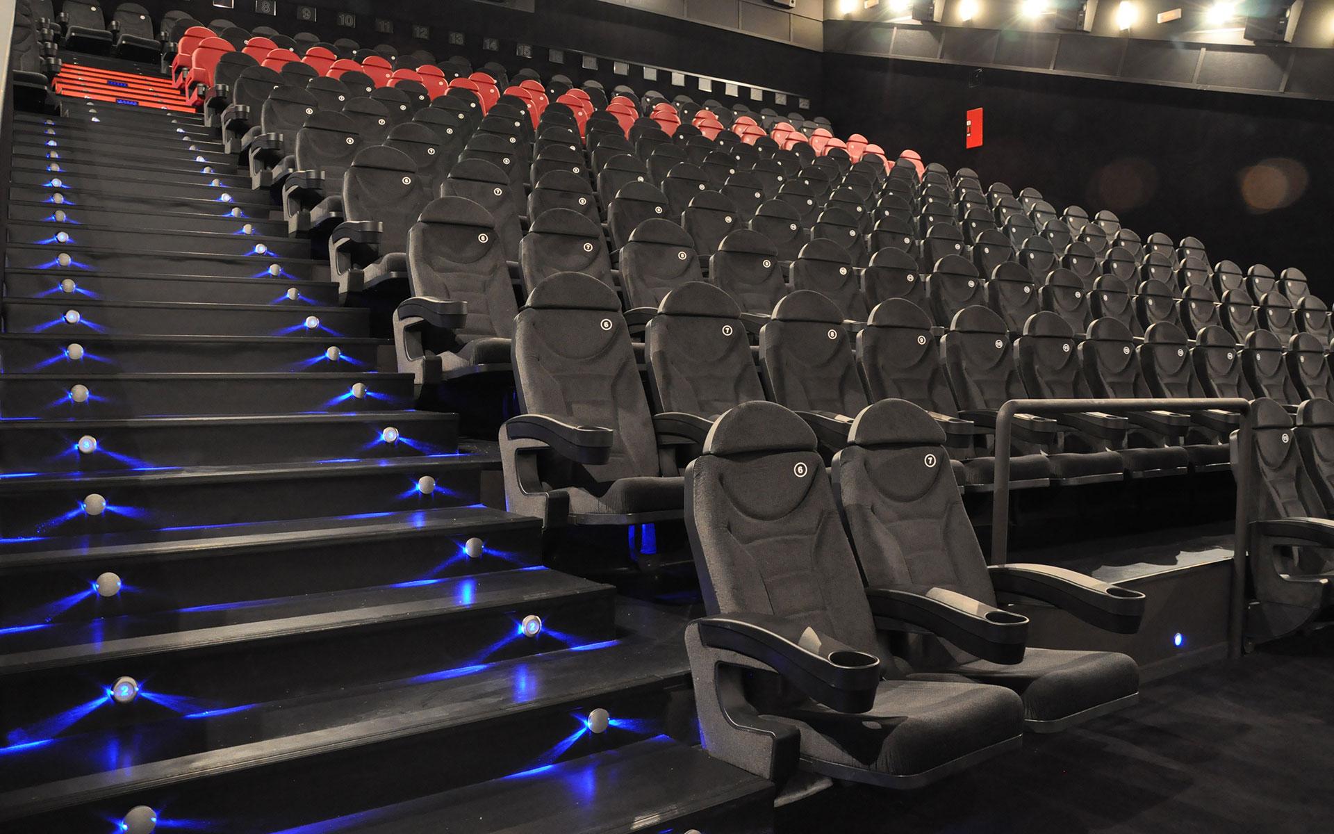 Proyectos butacas para cines euro seating - Cine marineda city coruna ...