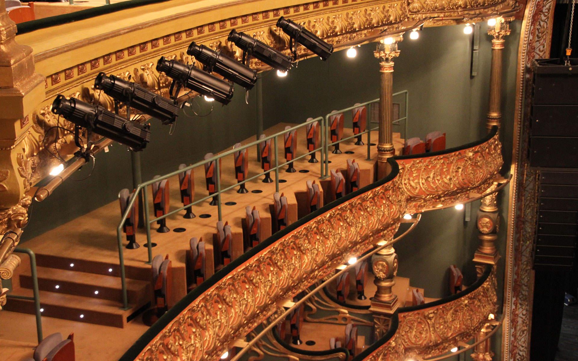 Campos eliseos teatro fabulous descripcin inaugurado en - Restaurante teatro campos ...