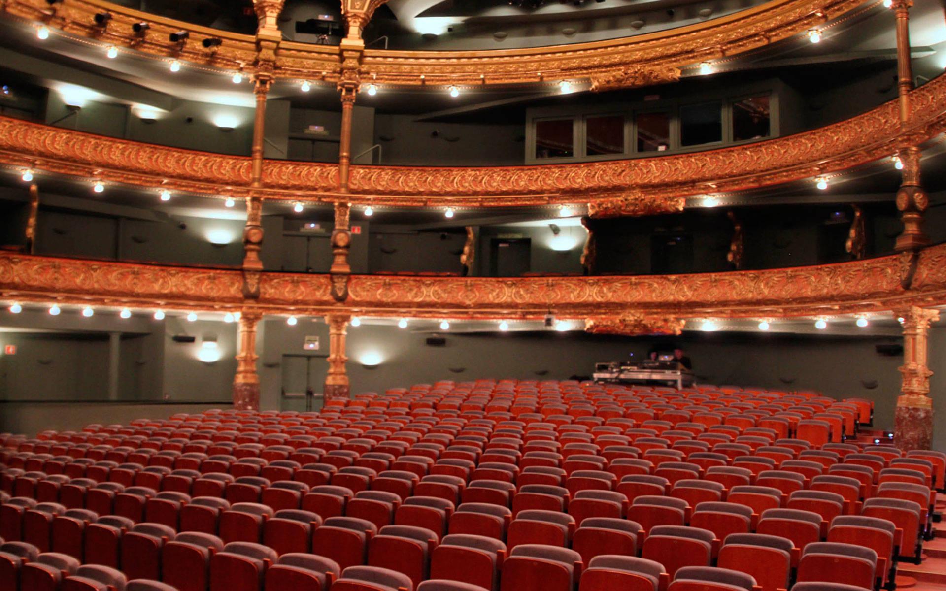 Proyectos butacas para teatros euro seating - Teatro campos elisios ...