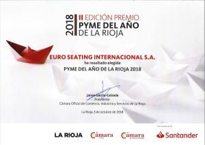 Euro Seating PYME La Rioja 2018