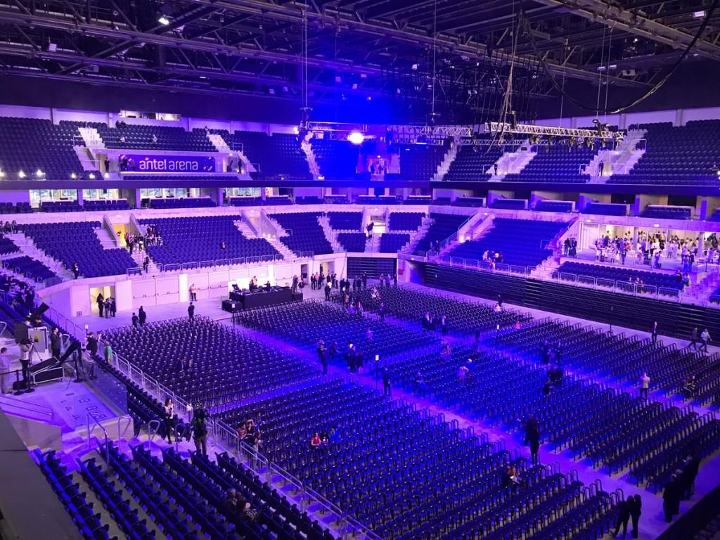 Antel Arena. Uruguay