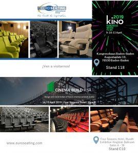 Euro Seating next cinema events