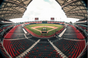 The baseball stadium HARP HELÚ  is renovated accompanied by EURO SEATING